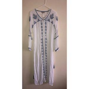 NWT World Market Boho Open Front Dress